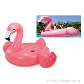 Inflatable Floaty Flamingo Ride On Pool Toy (142cm)